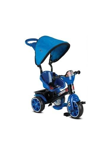 BabyHope Bobo Speed Stickerlı Emniyet Kemerli Ayarlanabilir Tenteli 3 Teker Çocuk Bisiklet Renkli